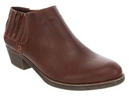 Sugar Women's Tess Ankle Bootie 10 Cognac Smooth
