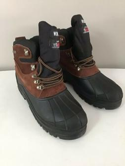 Kingshow Thermolite Waterproof Mens Winter boots Size 10.5 s