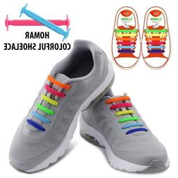 HOMAR No Tie Shoelaces for Kids and Adults - Best in Sports