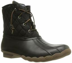 Sperry Top-Sider Women's Saltwater Rain Boot, Blac - Choose