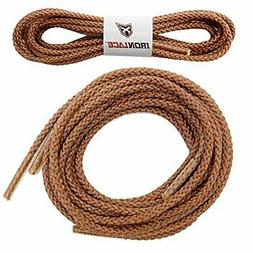 """Unbreakable Extra Heavy Duty Round Boot Laces Shoelaces 63"""""""
