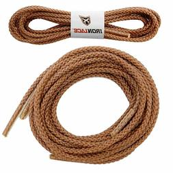 """Unbreakable Extra Heavy Duty Round Boot Laces Shoelaces 54"""""""
