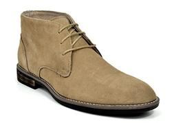 Bruno Marc Men's URBAN-01 Sand Classic Suede Leather Lace Up