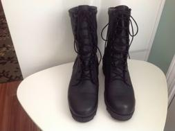 Altama US Military Black Leather Combat Boots Size 10 R - PJ