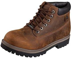Mens Skechers Sergeants/Verdict Work Boots 11.5 D, Brown