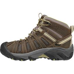 KEEN Voyageur Mid Hiking Boot - Women's Brindle/Custard, 9.5