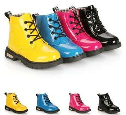 Winter Water Proof For Girls And Boys Solid Leather Syntheti