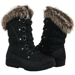 GLOBALWIN Women's 1816 Snow Boots 8 1817black
