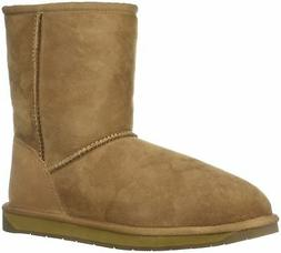 206 Collective Women's Balcom Short Back-Zip Shearling Ankle