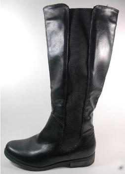 RAMPAGE Ierlynn Black Women's Boots Knee High Pull On Riding