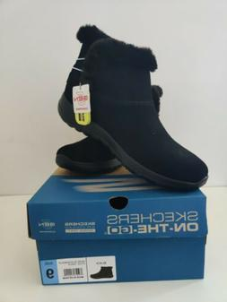 Skechers Women's On The Go Boots Color Black Size 8