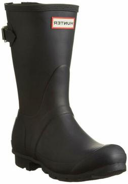 Hunter Women's Original Back Adjustable Short Rain Boots, Mi
