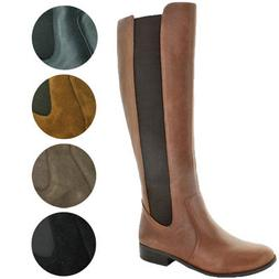 Jessica Simpson Women's Ricel 2 Wide Calf Knee High Leather