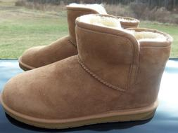 Women's Shearling Ankle Boot, Size 8 by 206 Collective, New