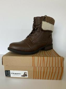 GLOBALWIN Women's W1815-3  Ankle Boots Brown Size 11