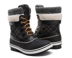 Global Win Women's Waterproof Winter Snow Boots size 9.5
