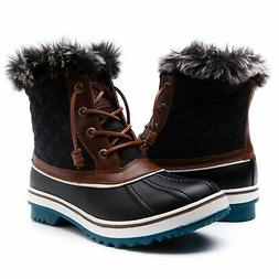 GLOBALWIN Women's1632-4 Snow Boots SZ-9.5M US Brown