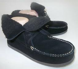 American Eagle Outfitters Womens Boots Ankle US 8 Black Sued