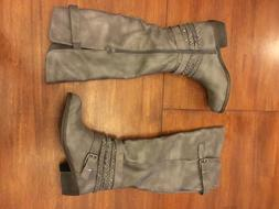 Rampage Women's Boots Size 6.5 Medium 6 1/2 M Gray Charcoa