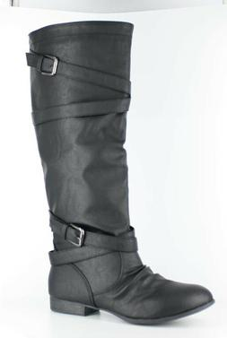47f1a1c74f2 TOP MODA WOMENS COCO-61 RIDING BOOTS