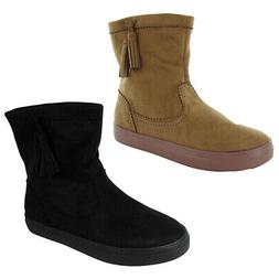 Crocs Womens LodgePoint Synthetic Suede Ankle Boot Shoes