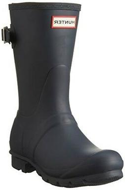 Hunter Womens Original Short Back Adjustable Rain Boots
