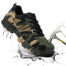Angbater Work Steel Toe Safety Shoes For Men And Women,Indus