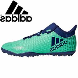 Adidas X Tango 17.3 Turf Shoes Men Adult Copper Blue Boot Cl