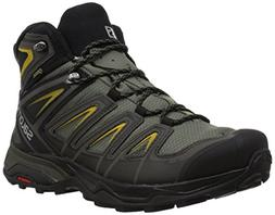 Salomon Men's X Ultra 3 Wide Mid GTX Hiking Boot, Castor Gra