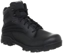 Bates Men's ZR-6 BLK 6 Inch Leather Nylon Uniform Boot, Blac